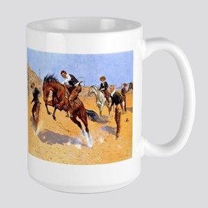 Cowboy art: Turn Him Lo Stainless Steel Travel Mug