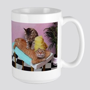 Funny Cat Massage Mugs