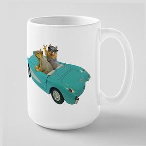 Squirrels Car Stainless Steel Travel Mugs