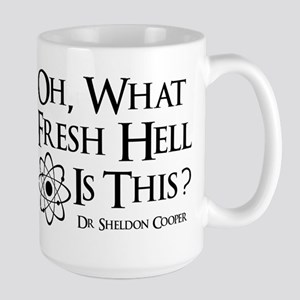 Fresh Hell Large Mug