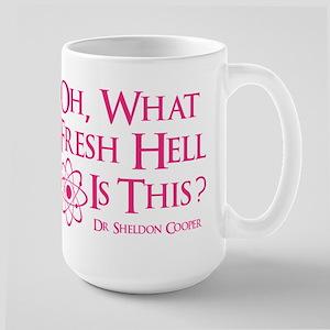 Fresh Hell Large Mug
