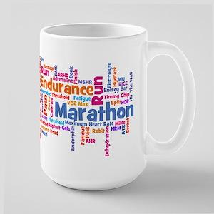 Runner Jargon Large Mug