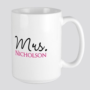 Customizable Mr and Mrs set - Mrs Mugs