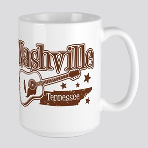 Nashville Tennessee Large Mug