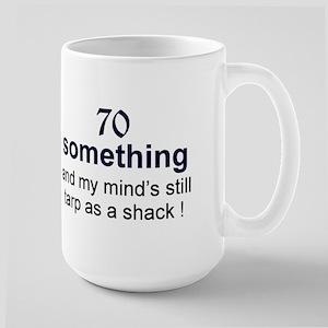 70 Something Large Mug