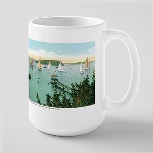Bar Harbor Maine ME Large Mug
