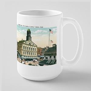 Boston Massachusetts MA Large Mug
