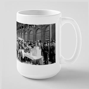 Ebbets Field, Brooklyn Dodgers - Vintage Photo Mug