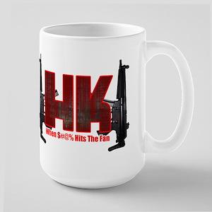 HK- When $#^% Hits The Fan Mug