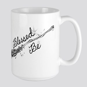 Blessed Be with Broom Mugs