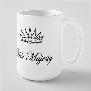 HER MAJESTY Large Mug