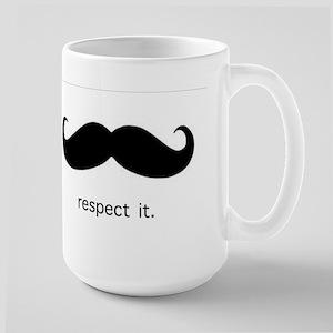 Respect the 'Stache Mugs