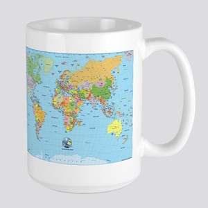 the small world Large Mug