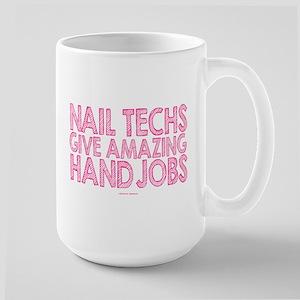 Nail Technician Hand Jobs Mugs