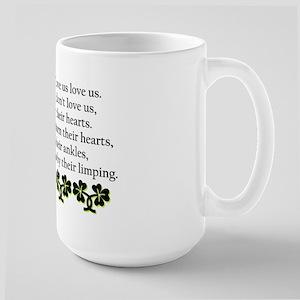 Irish Blessing? Large Mug