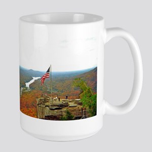 Above Chimney Rock Mugs