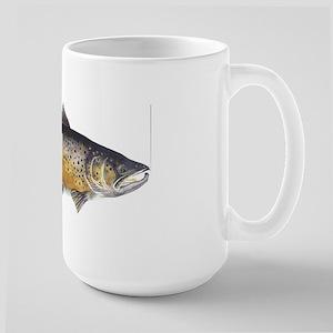 Brown Trout Art Large Mug