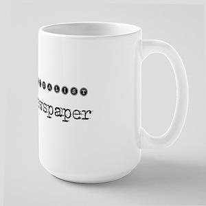 Save a Journalist Large Mug