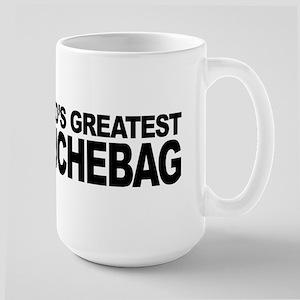 World's Greatest Douchebag Large Mug