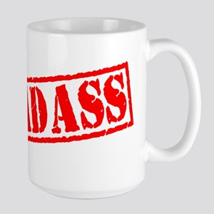 Badass Stamp Large Mug