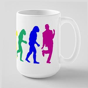 Gay Evolution Large Mug