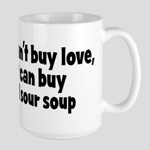 hot and sour soup (money) Mugs