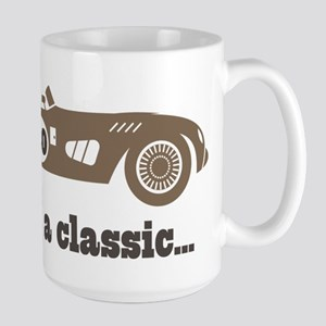 80th Birthday Classic Car Mugs