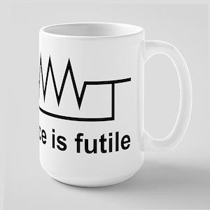 Resistance is Futile Mugs