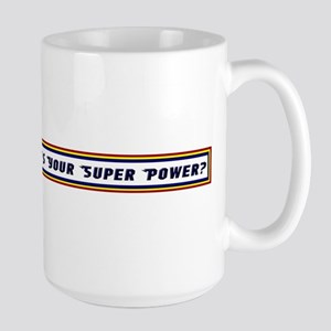 Rabbi Super Power Large Mug