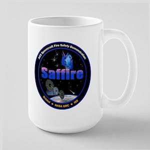 Saffire 1 Logo Large Mug Mugs