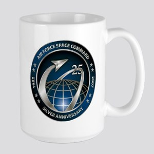 Space Command @ 25! Large Mug Mugs