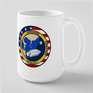 Apollo 1 Mission Patch Large Mug