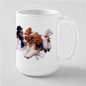 Cavaliers - Color Large Mug