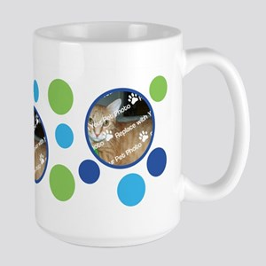 PERSONALIZE Add Your 3 Photos DIY Large Mug