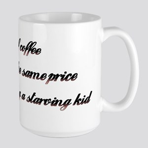 Starving Kid Coffee Cup