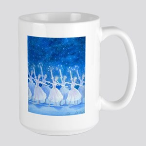 Dance of the Snowflakes 2-sided Large Mug