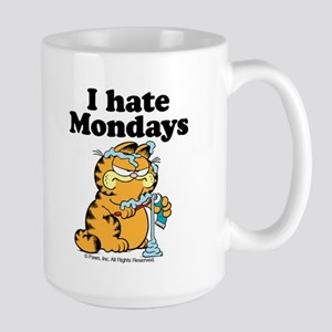 I Hate Mondays Large Mug