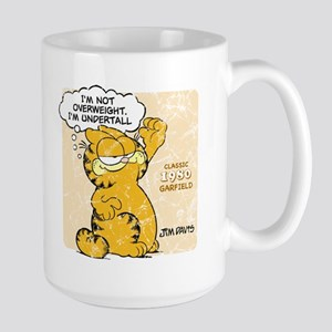 "Garfield ""I'm Undertall"" Large Mug"