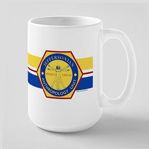 Bones Jeffersonian Anthropology Unit Fu Large Mug