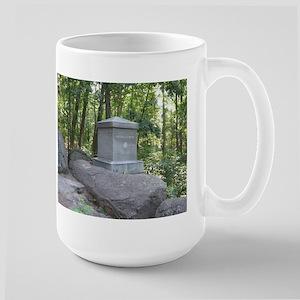20th Maine on Little Round Top Large Mug