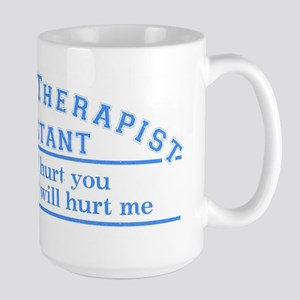 This will hurt - PTA Large Mug