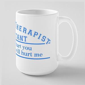 This will hurt - PTA Large Mug