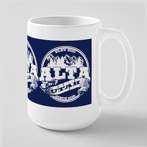 Alta Old Circle Blue Large Mug