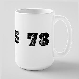 Revolutions per minute Large Mug