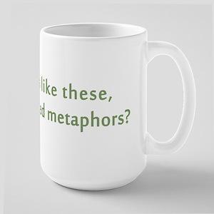 Friends Mixed Metaphors Large Mug