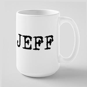 TEAM JEFF Large Mug