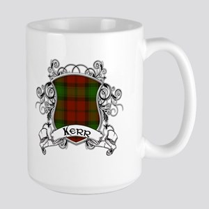 Kerr Tartan Shield Large Mug