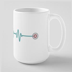 Stethescope Heart Rate Monitor Mugs