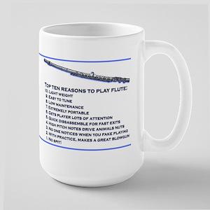 Flute Top 10 Large Mug Mugs