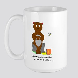 Honey Pot Bear Large Mug